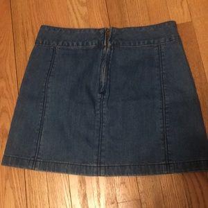 Free People Skirts - Free people jean skirt